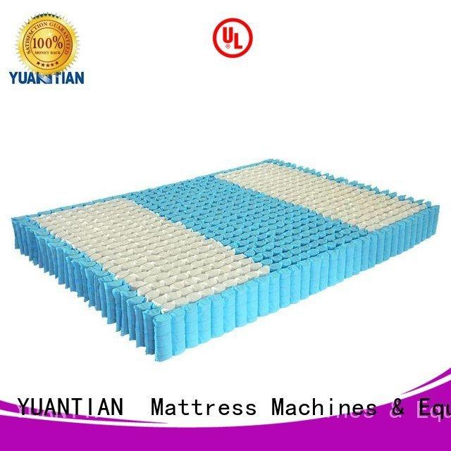 nested nonwoven mattress spring unit YUANTIAN Mattress Machines