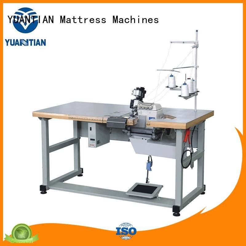YUANTIAN Mattress Machines Brand dss1250 ds5 ds7a Double Sewing Heads Flanging Machine