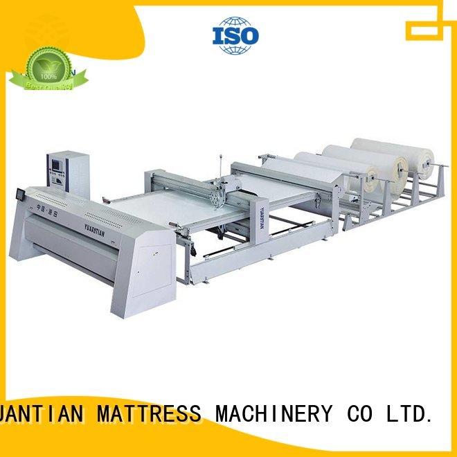 dzhf2h four ls320 needle YUANTIAN Mattress Machines quilting machine for mattress price