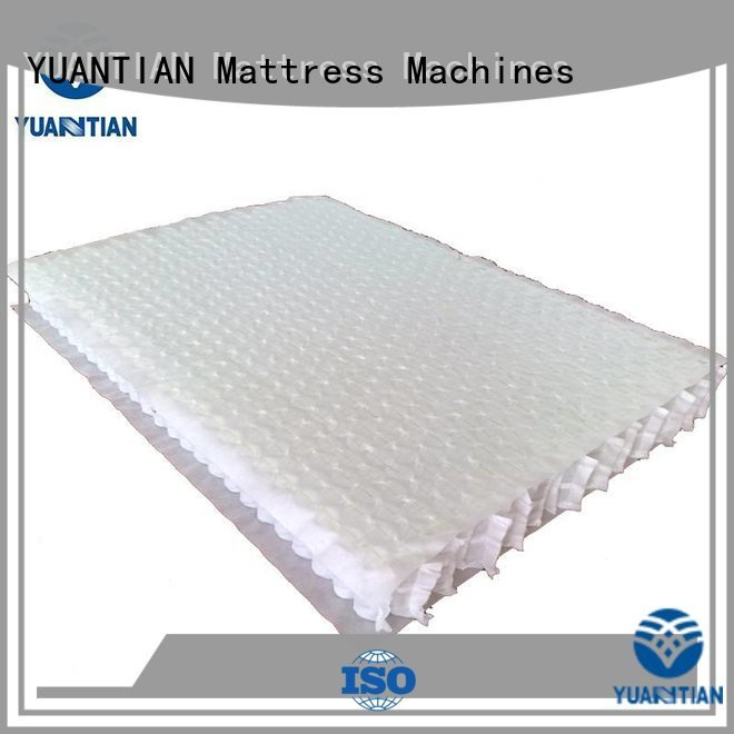 YUANTIAN Mattress Machines covers unit mattress spring unit zoned spring
