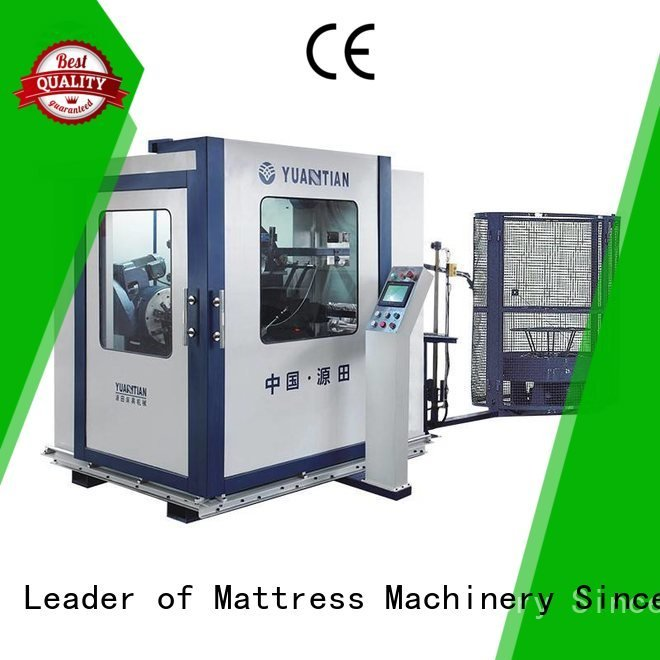 YUANTIAN Mattress Machines Automatic Bonnell Spring Coiling Machine line production unit automatic