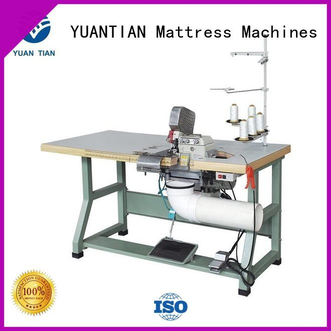 Double Sewing Heads Flanging Machine sewing Mattress Flanging Machine YUANTIAN Mattress Machines Brand