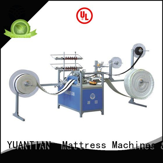 Wholesale decorative border Mattress Sewing Machine YUANTIAN Mattress Machines Brand