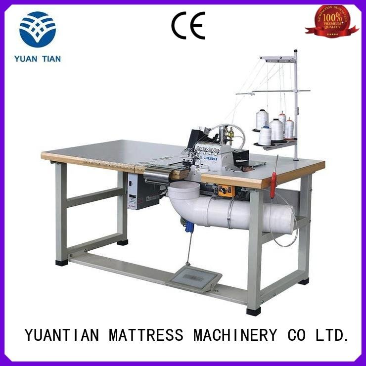 double heavyduty sewing Double Sewing Heads Flanging Machine YUANTIAN Mattress Machines