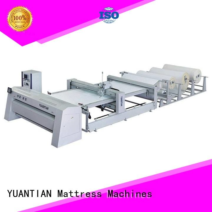 Custom quilting machine for mattress side single wbsh1 YUANTIAN Mattress Machines