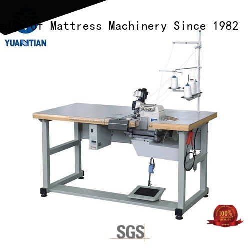 ds8a Mattress Flanging Machine YUANTIAN Mattress Machines Double Sewing Heads Flanging Machine