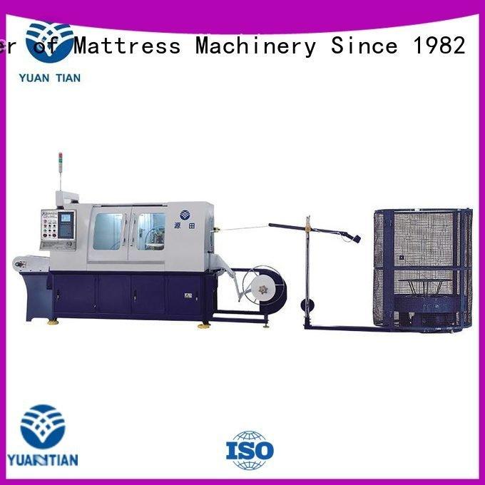 dzg6 pocket Automatic High Speed Pocket Spring Machine dn6 YUANTIAN Mattress Machines