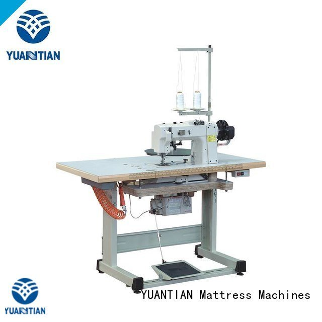wb1 pf300u edge table YUANTIAN Mattress Machines mattress tape edge machine