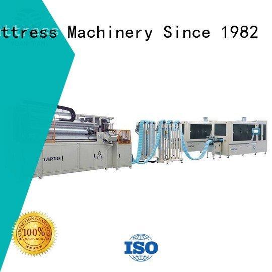 YUANTIAN Mattress Machines Automatic High Speed Pocket Spring Machine pocket high production pocketspring