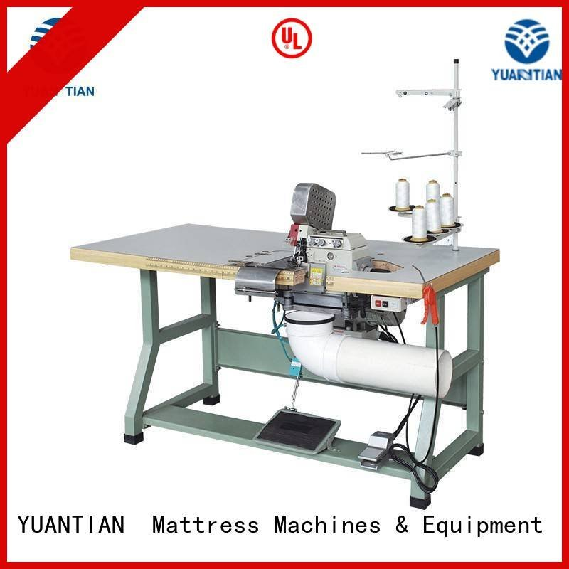 Double Sewing Heads Flanging Machine heavyduty Mattress Flanging Machine YUANTIAN Mattress Machines Brand