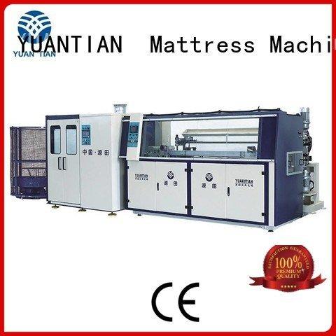 line bonnell automatic bonnell spring machine YUANTIAN Mattress Machines