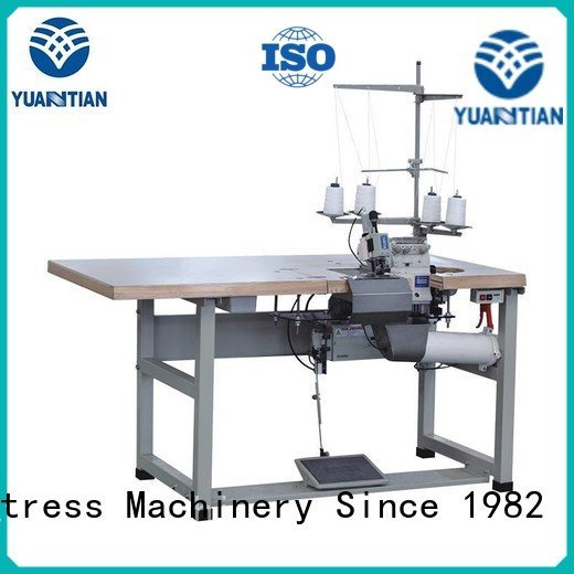 Quality Double Sewing Heads Flanging Machine YUANTIAN Mattress Machines Brand heads Mattress Flanging Machine
