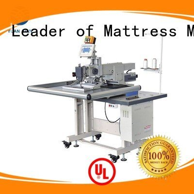 YUANTIAN Mattress Machines Brand sewing longarm Mattress Sewing Machine label decorative
