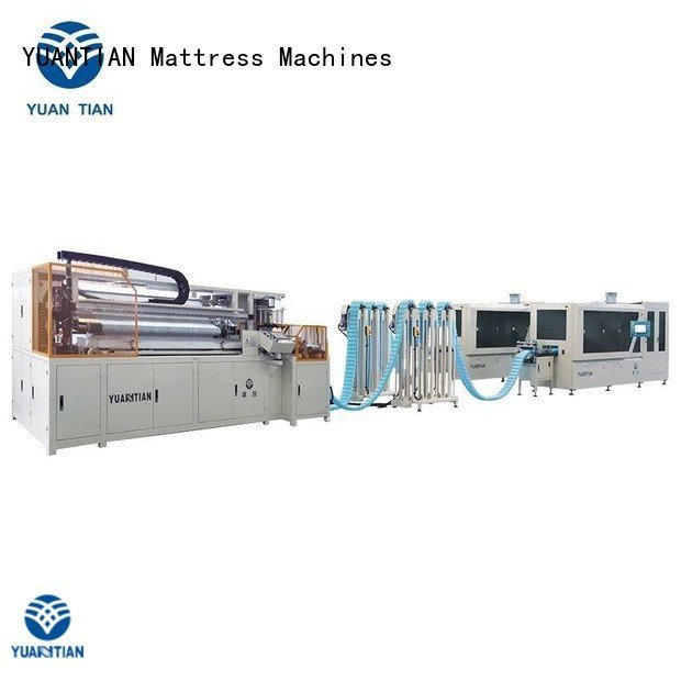 automatic Automatic High Speed Pocket Spring Machine dt012 dzh3 YUANTIAN Mattress Machines