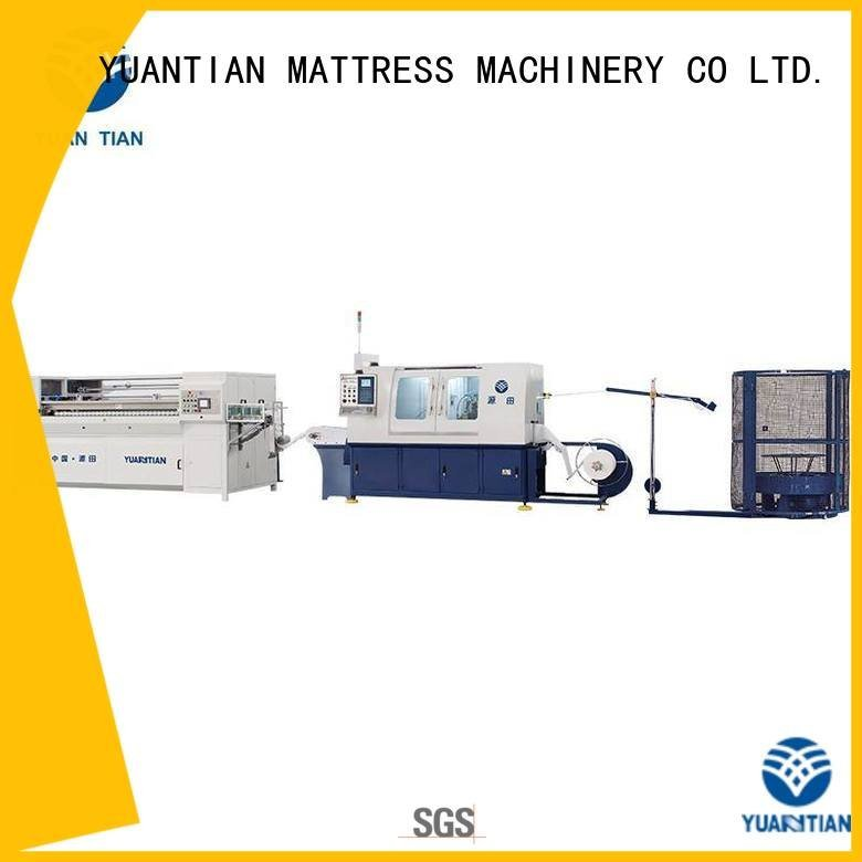 Automatic Pocket Spring Machine pocketspring line YUANTIAN Mattress Machines Brand