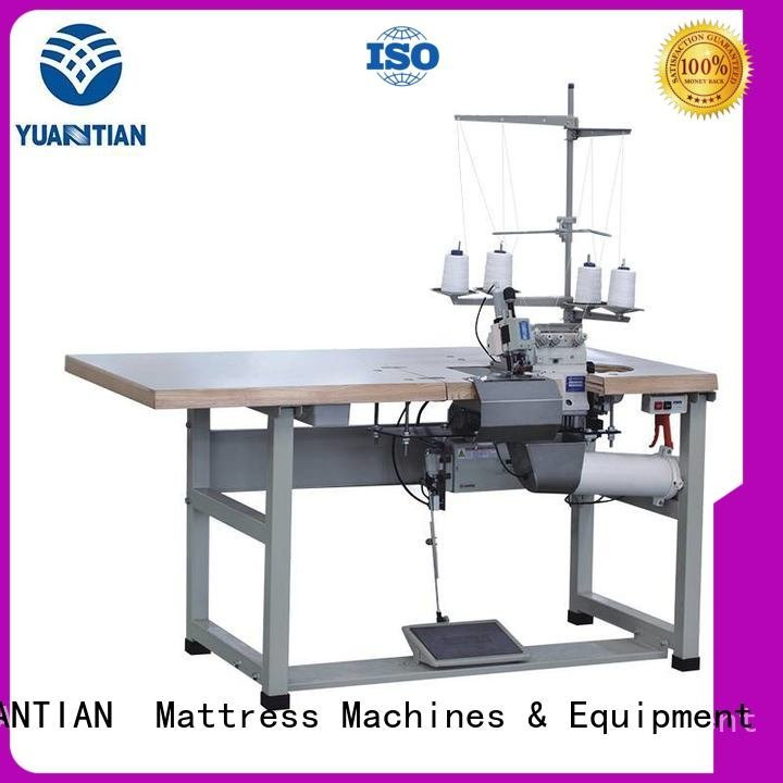 Double Sewing Heads Flanging Machine heads Mattress Flanging Machine YUANTIAN Mattress Machines Brand