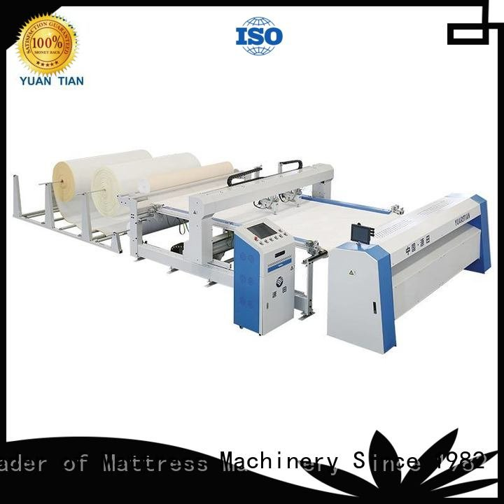 Hot quilting machine for mattress price ls320 border wbsh1 YUANTIAN Mattress Machines Brand