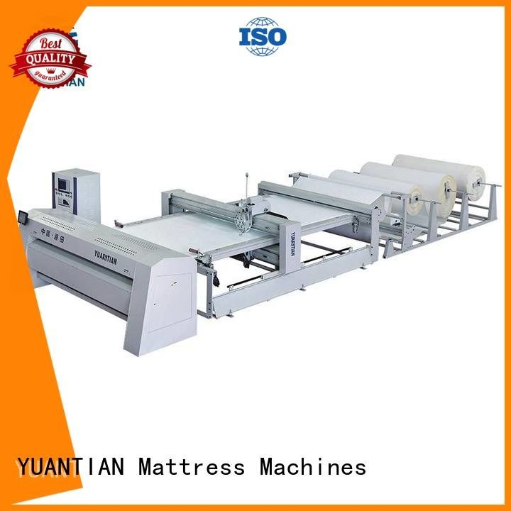 quilting machine for mattress price double quilting machine for mattress single YUANTIAN Mattress Machines