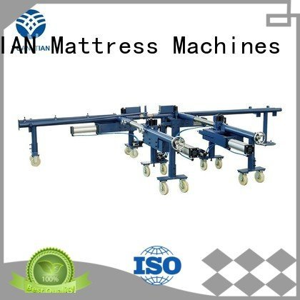 YUANTIAN Mattress Machines Brand pneumatic bending mattress packing machine straightening mattress