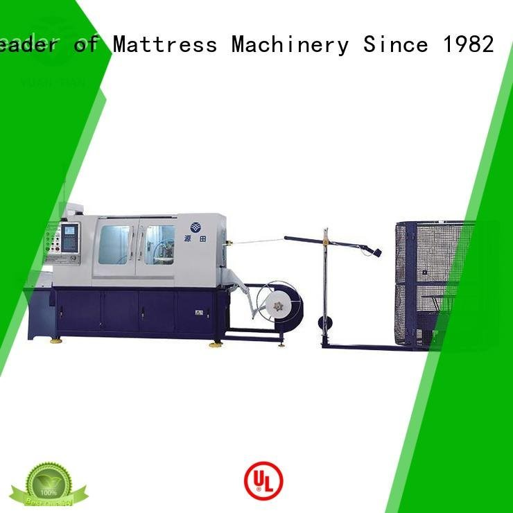 Wholesale coiling Automatic Pocket Spring Machine YUANTIAN Mattress Machines Brand