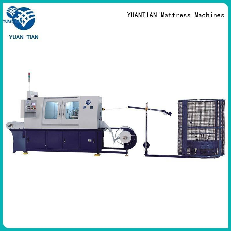 Automatic Pocket Spring Machine dzg1a Automatic High Speed Pocket Spring Machine pocket YUANTIAN Mattress Machines