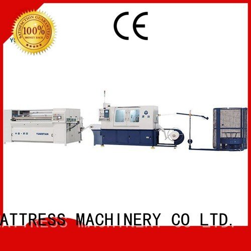 Automatic Pocket Spring Machine speed pocketspring Automatic High Speed Pocket Spring Machine YUANTIAN Mattress Machines Warrant