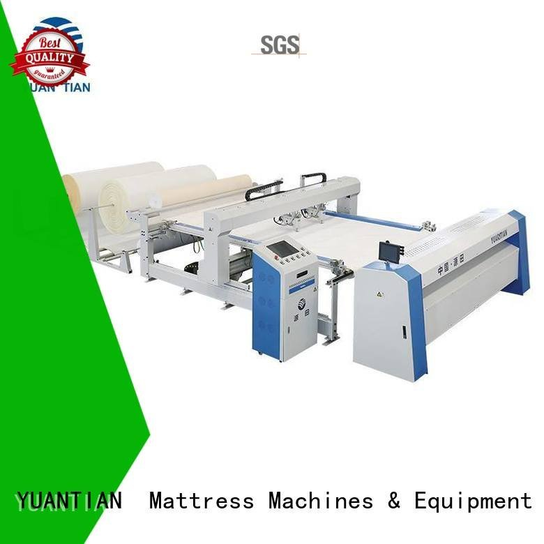 highspeed stitching border lockstitch YUANTIAN Mattress Machines quilting machine for mattress price