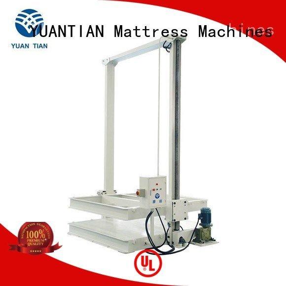 foam mattress making machine unpressing unit OEM mattress packing machine YUANTIAN Mattress Machines