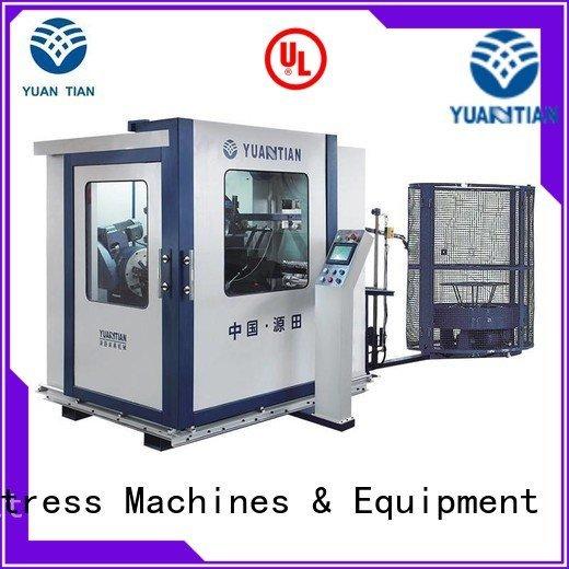 YUANTIAN Mattress Machines Automatic Bonnell Spring Coiling Machine production bonnell spring line