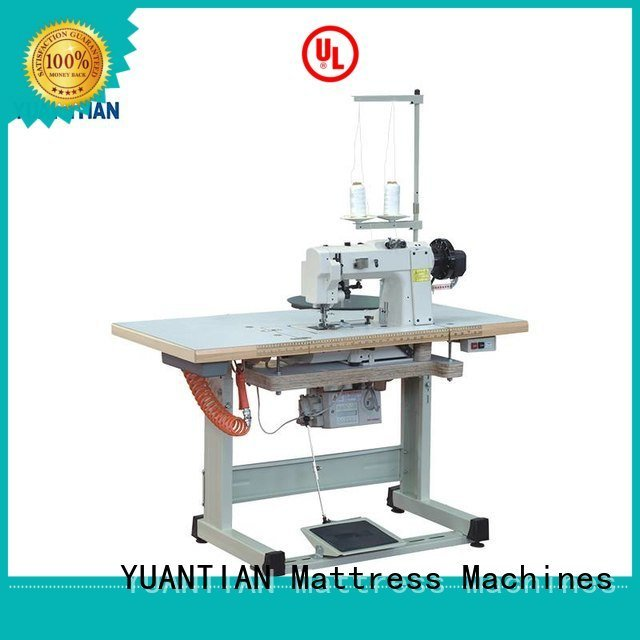 wb4a pf300u YUANTIAN Mattress Machines mattress tape edge machine