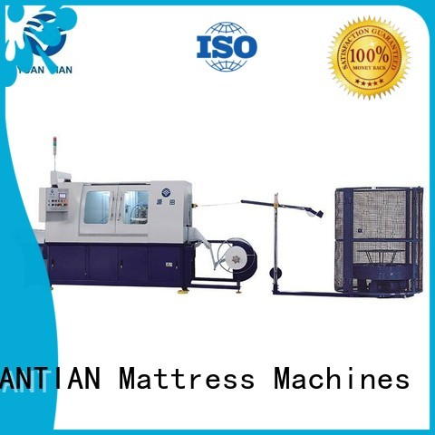 speed Automatic High Speed Pocket Spring Machine line YUANTIAN Mattress Machines company