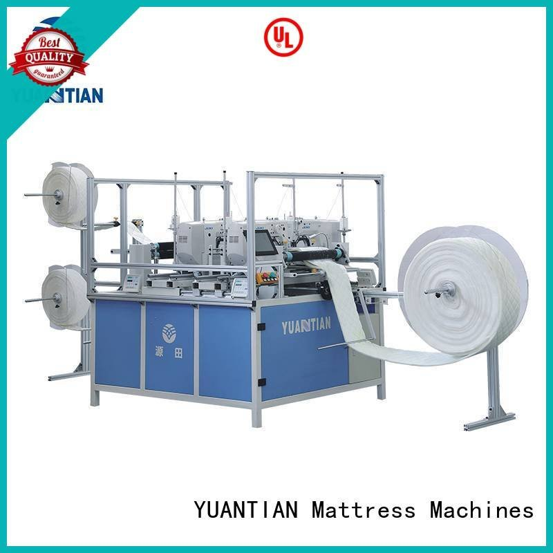 YUANTIAN Mattress Machines singleneedle quilting machine for mattress four wbsh1