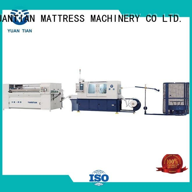 YUANTIAN Mattress Machines Brand production spring Automatic High Speed Pocket Spring Machine