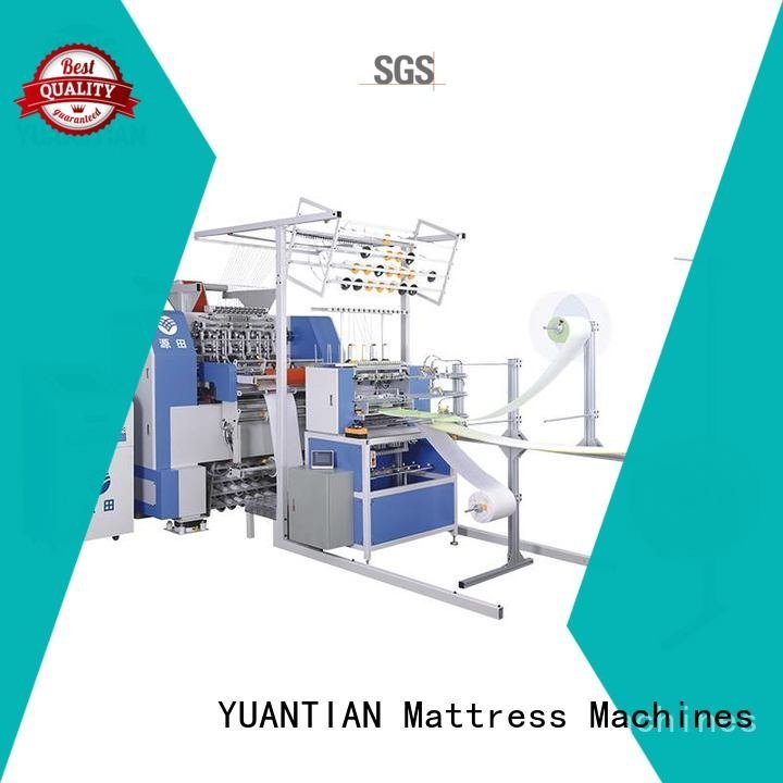 quilting multineedle mattress highspeed machine lockstitch YUANTIAN Mattress Machines quilting machine for mattress price