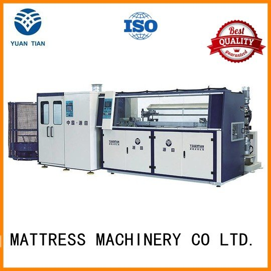 production machine unit automatic YUANTIAN Mattress Machines Automatic Bonnell Spring Coiling Machine