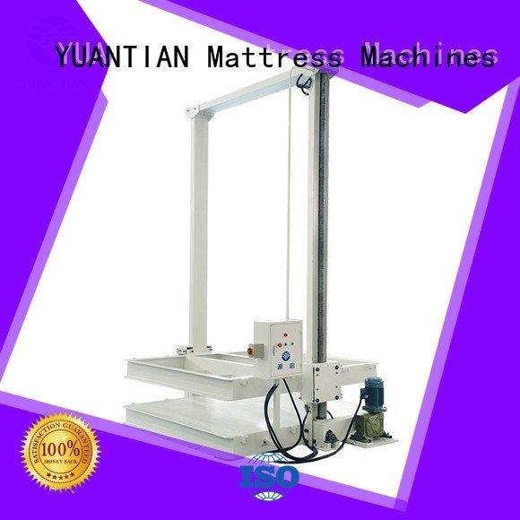 YUANTIAN Mattress Machines Brand cc1 bending mattress packing machine automatic bz3