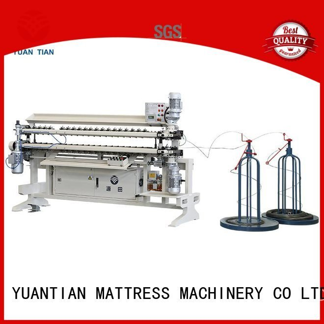 semiauto spring YUANTIAN Mattress Machines Bonnell Spring Assembly  Machine