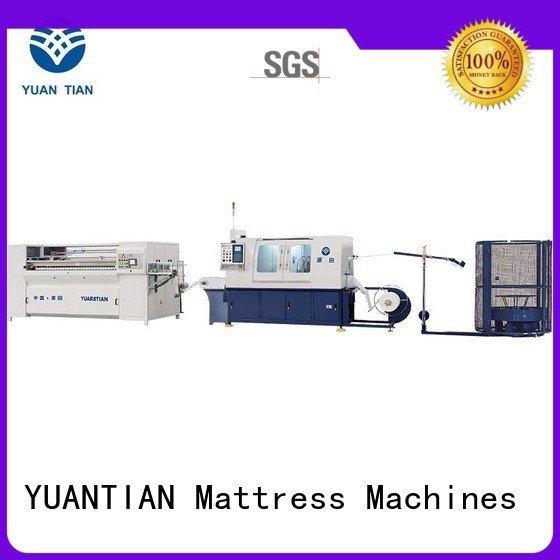 production Automatic High Speed Pocket Spring Machine automatic machine YUANTIAN Mattress Machines