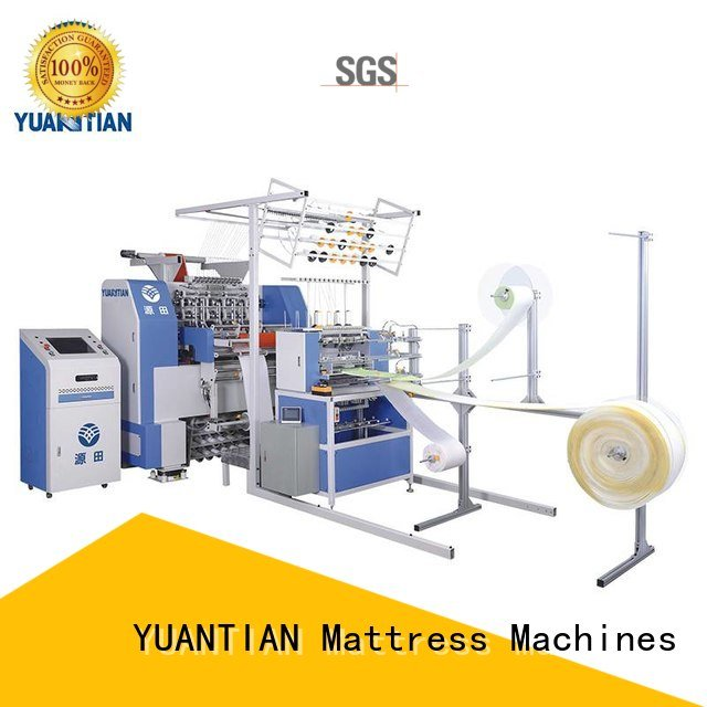 single machine needle bhf1 YUANTIAN Mattress Machines quilting machine for mattress