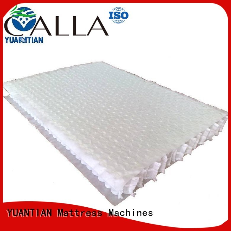 mattress spring unit nested bottom Warranty YUANTIAN Mattress Machines