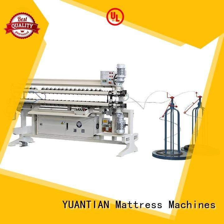 YUANTIAN Mattress Machines Brand semiauto assembling bonnell spring unit machine machine spring