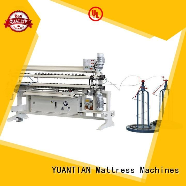 YUANTIAN Mattress Machines Brand semiauto assembling bonnell spring unit machine machine spring