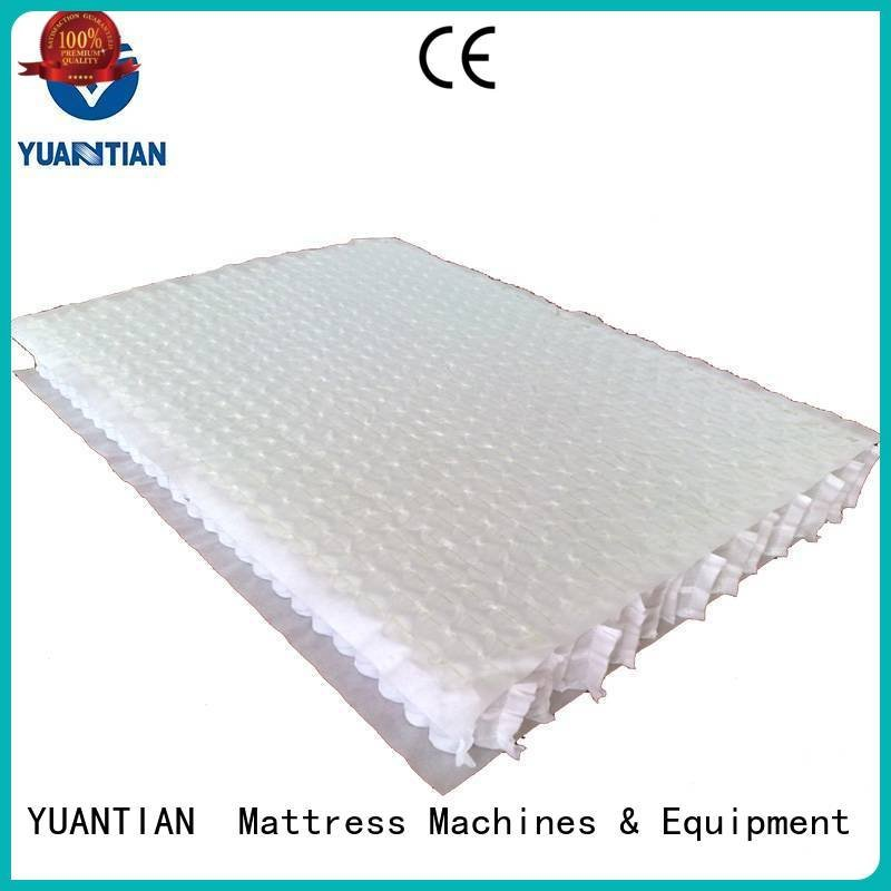 mattress spring unit top pocket mattress spring unit YUANTIAN Mattress Machines Brand