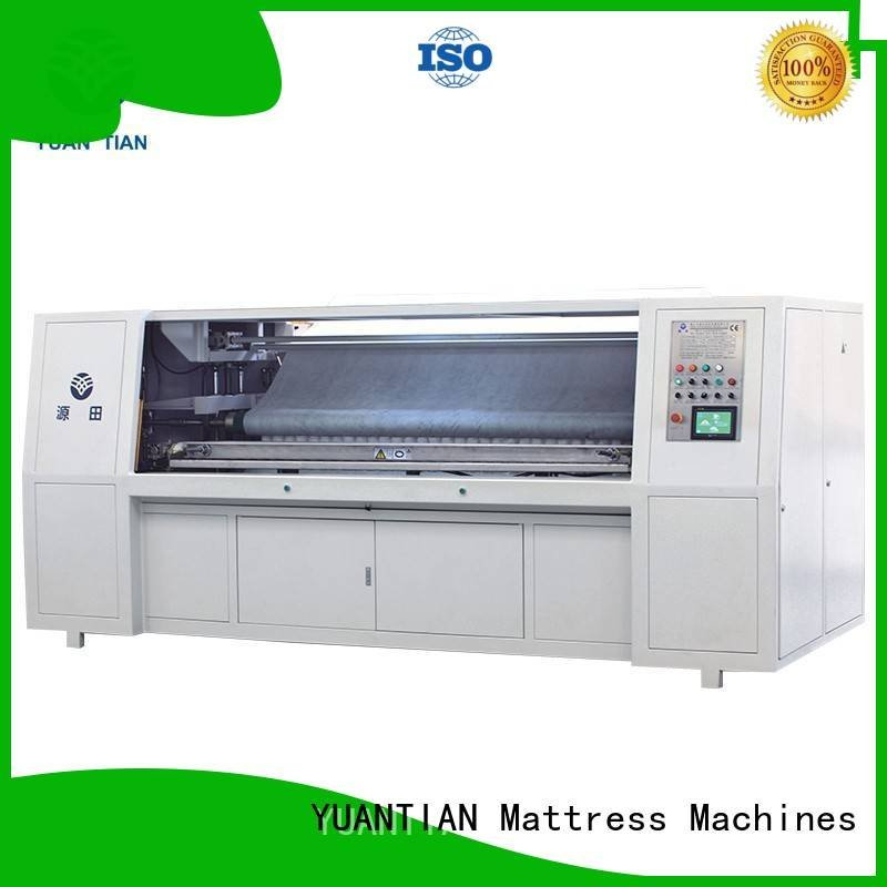 pocket automatic YUANTIAN Mattress Machines Pocket Spring Assembling Machine