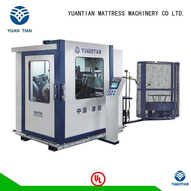 tx011 spring line production YUANTIAN Mattress Machines bonnell spring machine