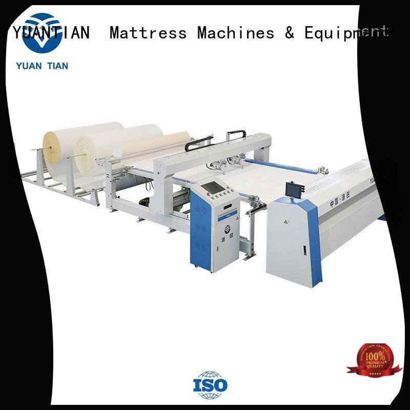 side double YUANTIAN Mattress Machines quilting machine for mattress price