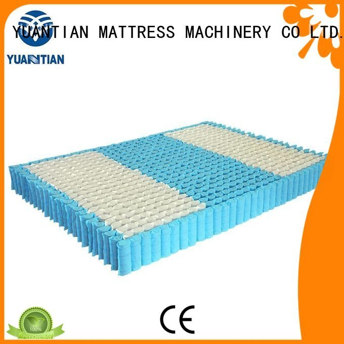 mattress spring unit nested nonwoven top pocket YUANTIAN Mattress Machines