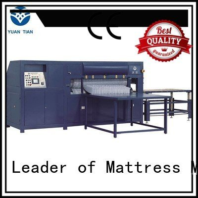 YUANTIAN Mattress Machines border mattress machine foam mattress making machine rollpack