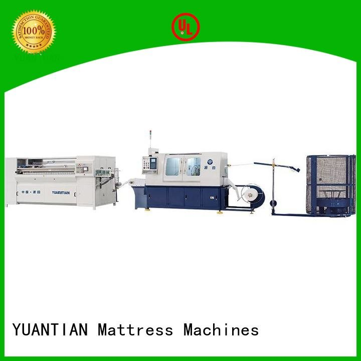 pocket speed dtdx012 Automatic Pocket Spring Machine YUANTIAN Mattress Machines
