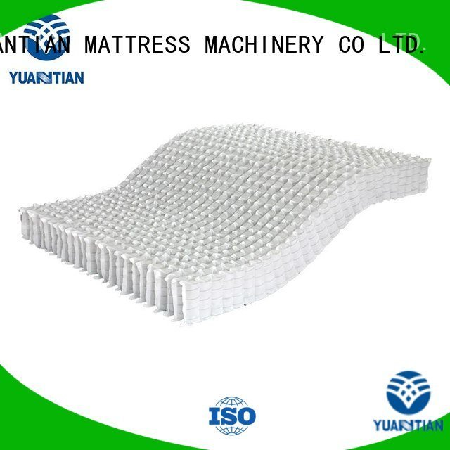 mattress spring unit spring bottom zoned YUANTIAN Mattress Machines